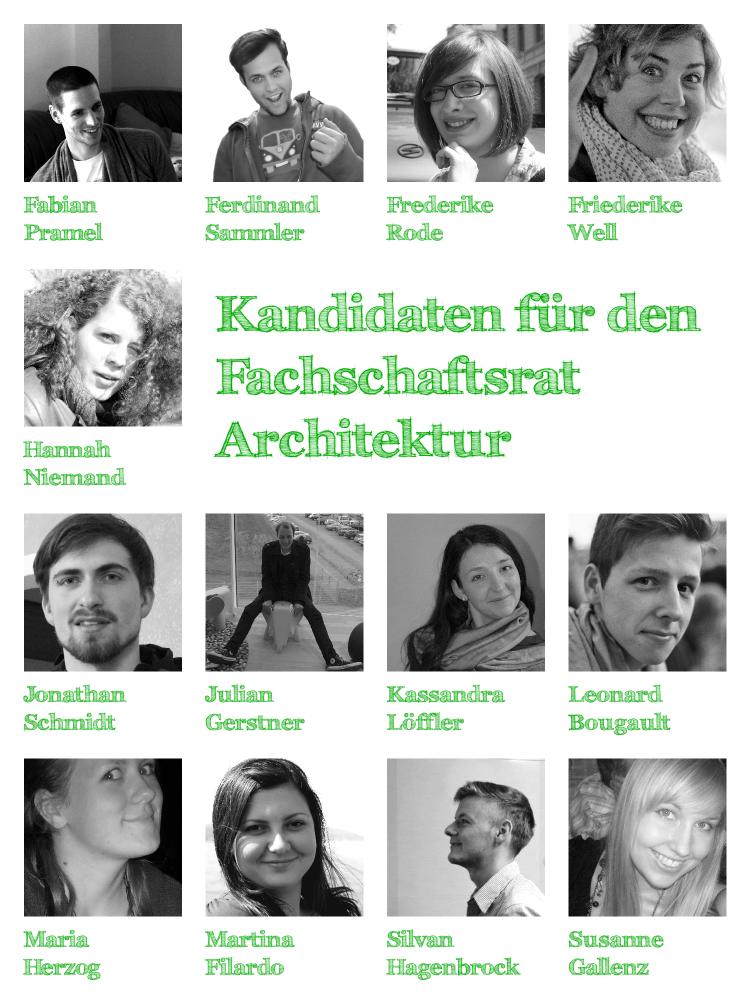 Kandidaten FsR Architektur