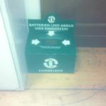 Batterien-Sammelbehälter