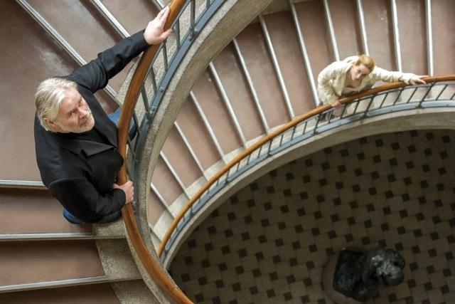 Baumeister Solness & Hilde Wangel in der Bauhaus-Uni