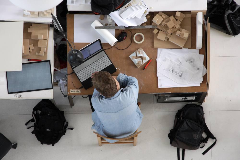 Arbeitsplatz, Foto: Ferdinand Sammler