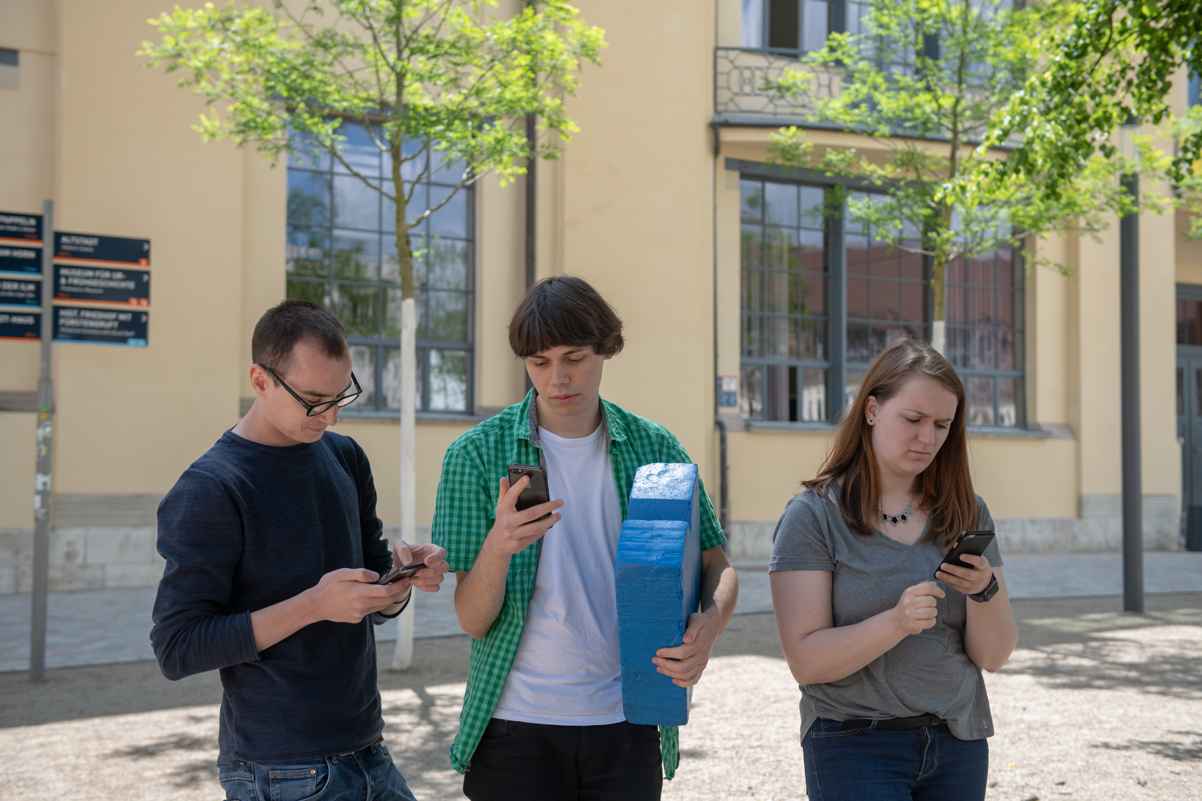 Olli, Paulina & Ludwig